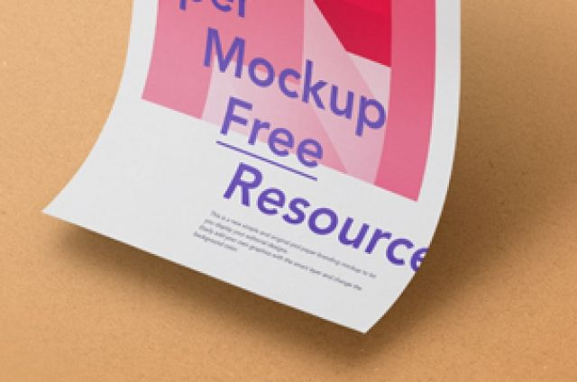 This is a new subtle floating gravity psd paper mockup to let you showcase your branding designs in style. Add your...