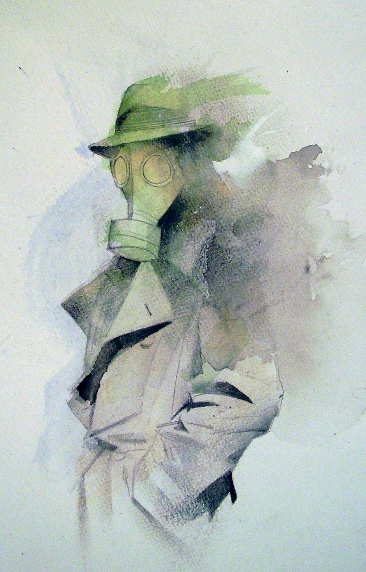 Sandman Mystery Theatre, in the August 2011: Vertigo Comic Art Sketchbook