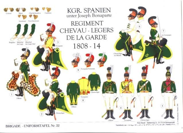 Kingdom of Joseph Napoleon. Spaniards in French Service. Regiment of Chasseurs a Cheval