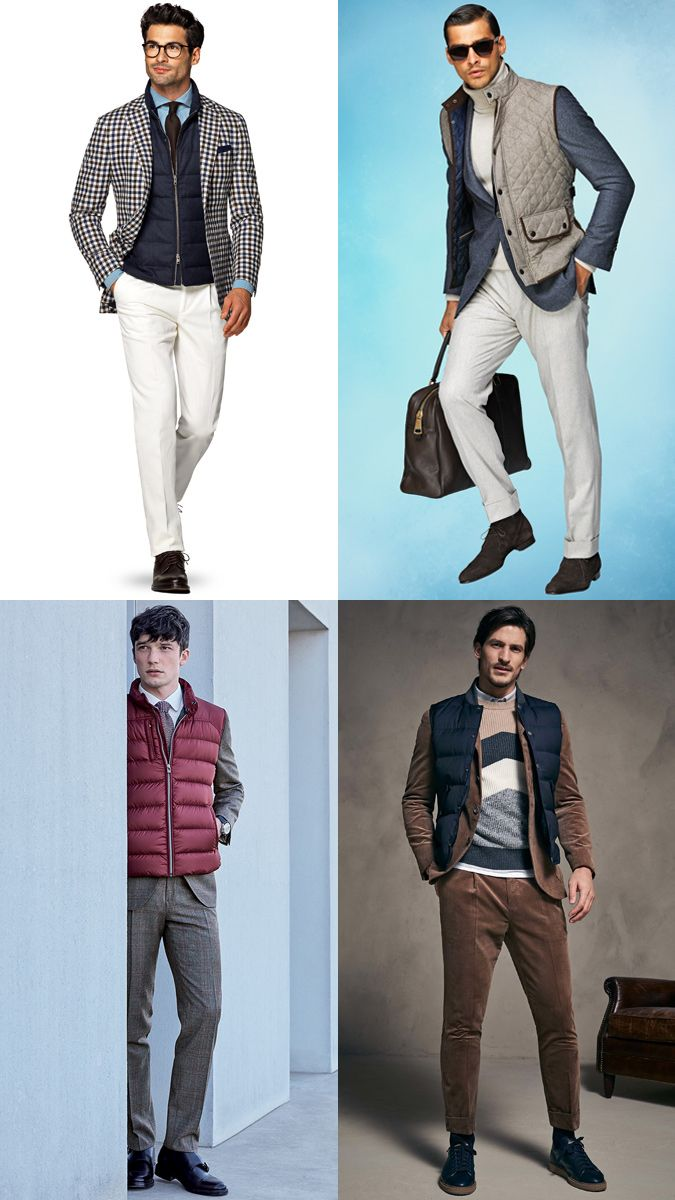 31f36f365f How to Wear a Gilet Bodywarmer Vest with a Suit Outfits Lookbook Inspiration