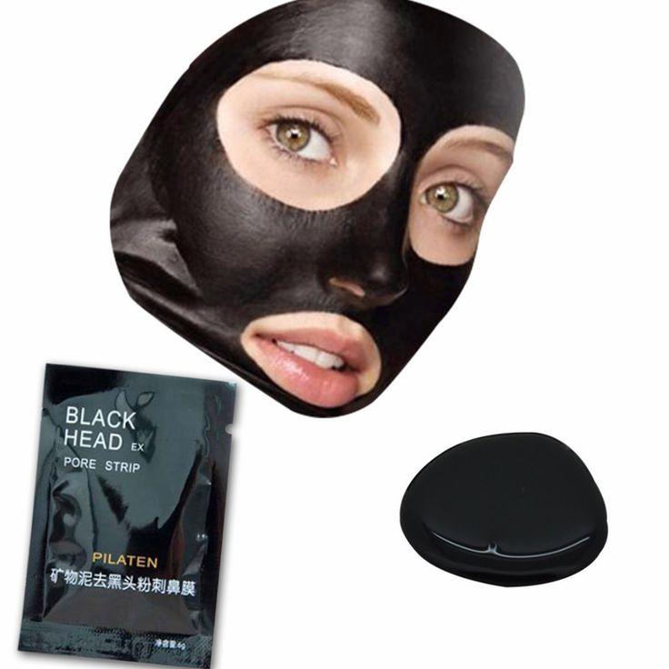 Face Care Facial Minerals Conk Nariz Blackhead remover Máscara Preta Poros Limpador Black Head EX Pore 20 pcs