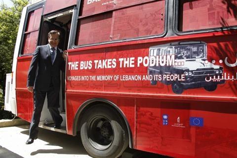 the bus takes the podium in lebanon