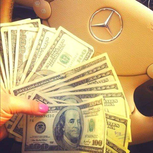 """""""Money comes easily and frequently""""- vision board picture"""