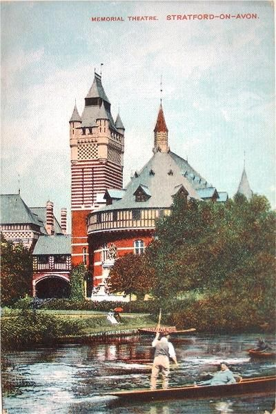 Postcards of the Past - Stratford-upon-Avon - The Old Theatre