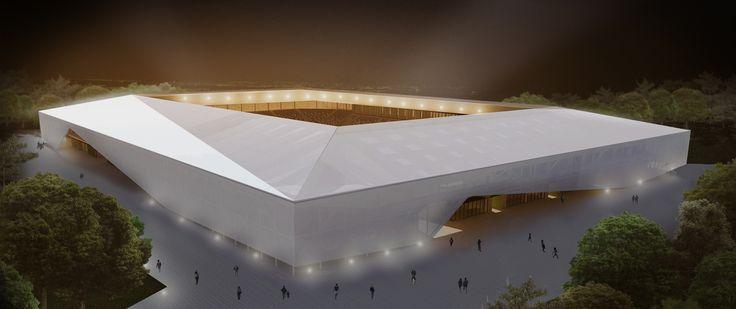 Rojas Böttner + Gajardo + Soto, primer lugar en concurso de ideas para nuevo estadio de Osorno en Chile