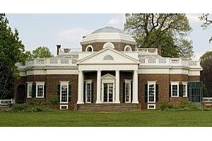 Monticello, Thomas Jefferson's architectural masterpiece and beloved mountaintop home.  (www.monticello.org)