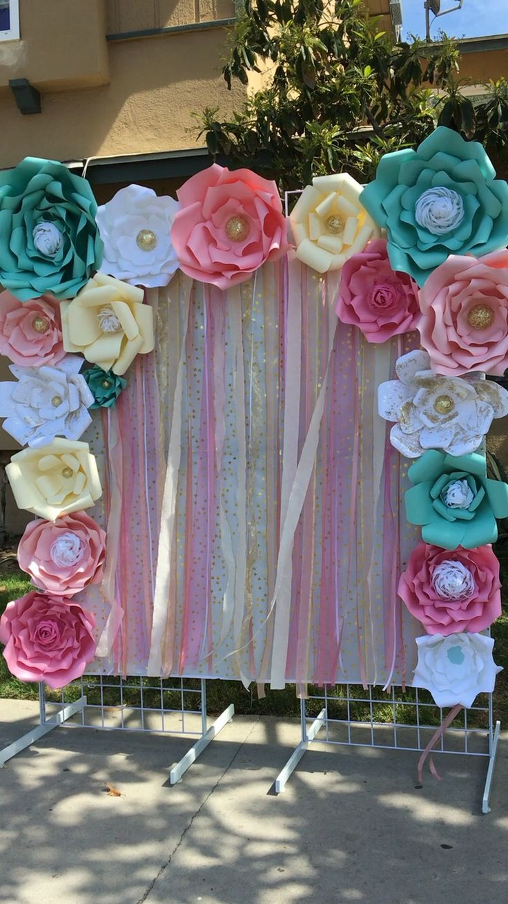 25 best party backdrops ideas on pinterest 2nd birthday for Backdrop decoration for birthday