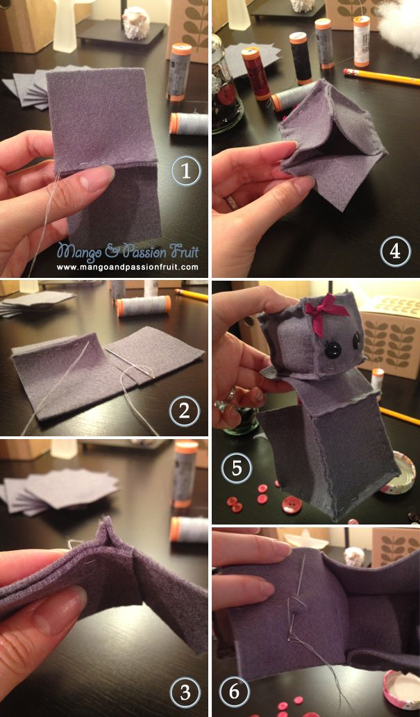 How to make your own felt robot (inspired by Etsy …