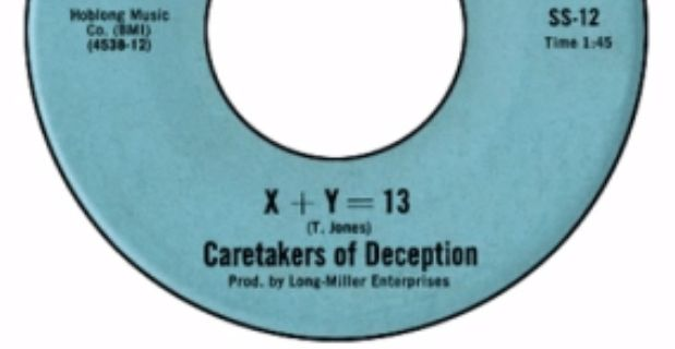 The Caretakers of Deception - X + Y = 13 - https://www.garage-rock-radio.com/the-caretakers-of-deception-x-y-13.html/