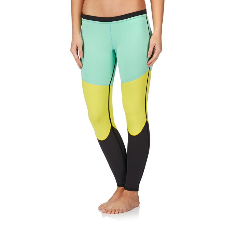 Roxy Optic Nat Surf Print Surf Leggings - Cabbage