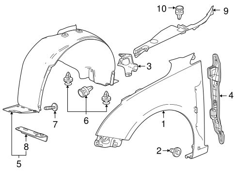 Body/Fender & Components for 2012 Chevrolet Cruze #1
