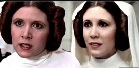 "Princess Leia in ""A New Hope"" vs. Princess Leia in ""Rogue One"" The ONLY PRINCESS LEIA IS CARRIE FISHER! period."