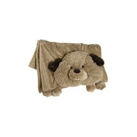 The Original My Pillow Pets Dog Blanket (Brown)  Order at http://amzn.com/dp/B0037Z2M4M/?tag=trendjogja-20