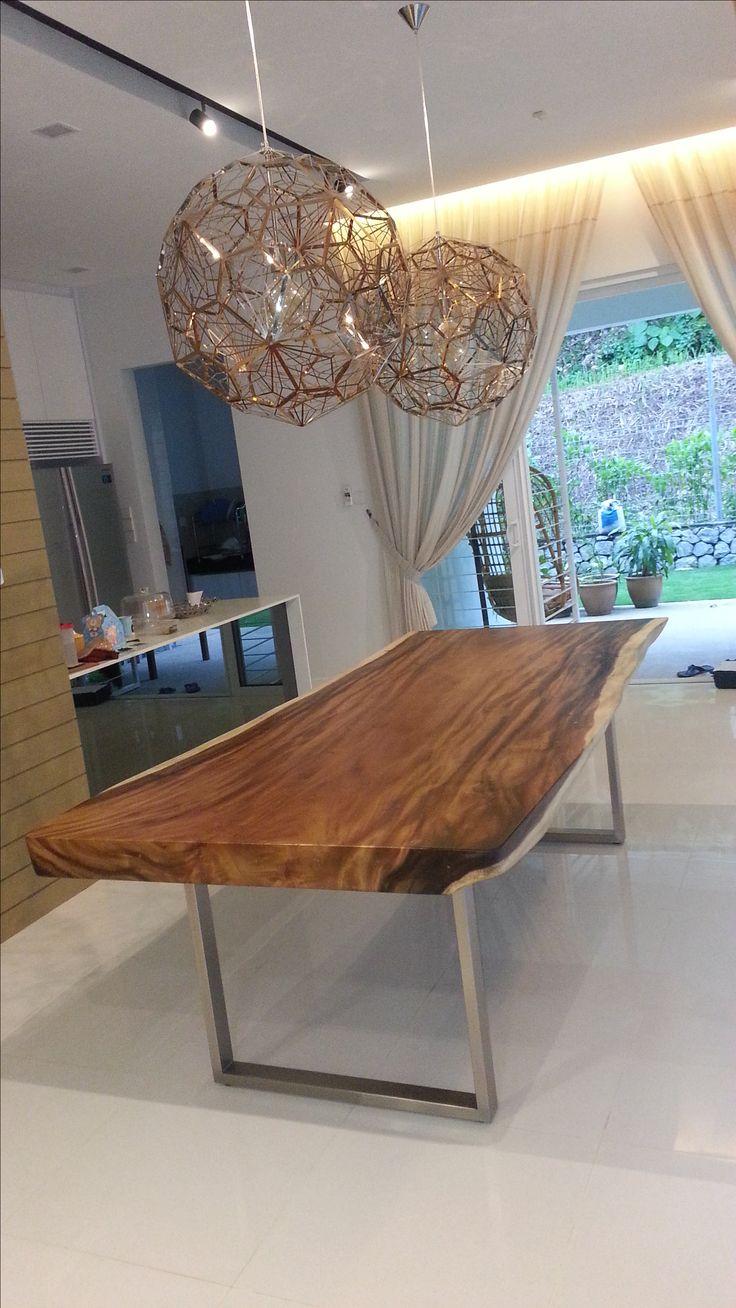 Suar Wood Dining Table Malaysia Suarwood SuarWoodTableSelangor DiningTableMalaysia IndoorTableSelangor