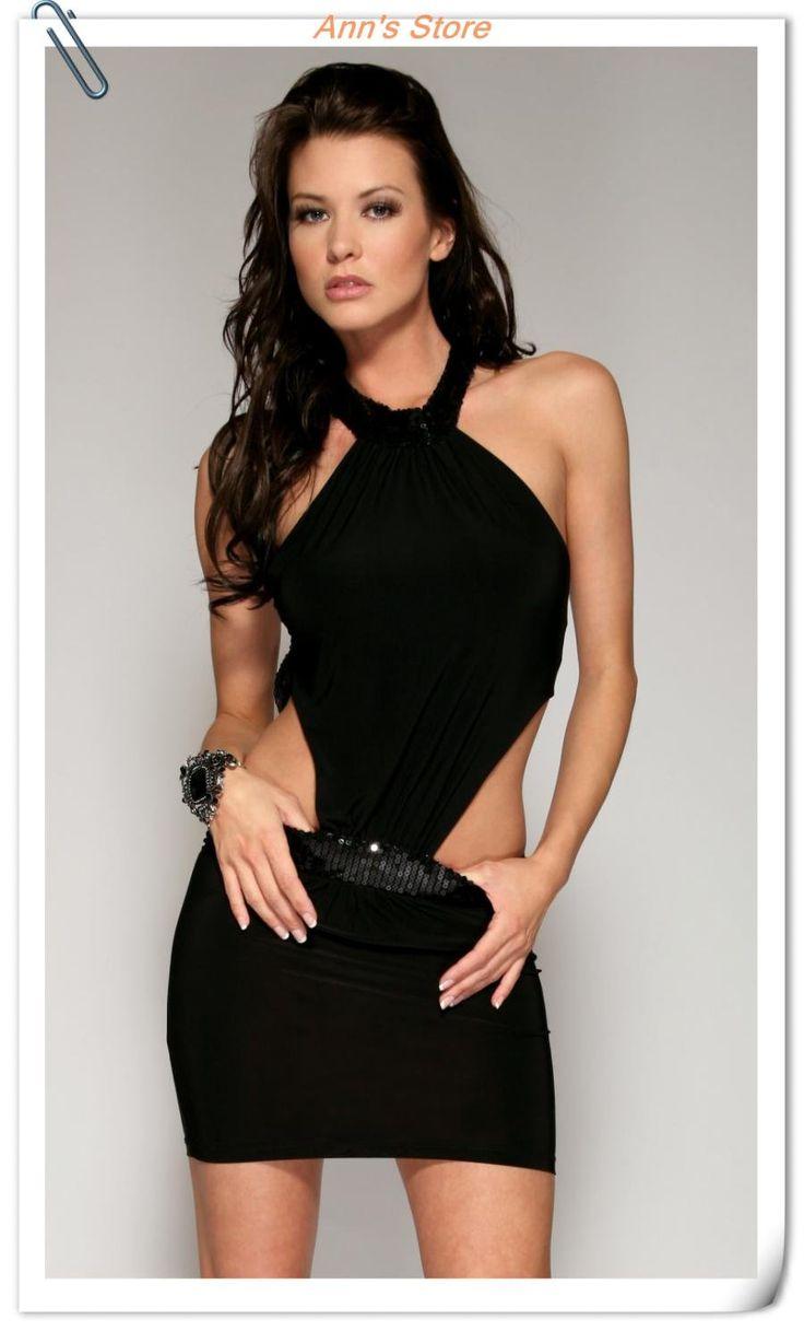 Black Tank Mini Dress Redial