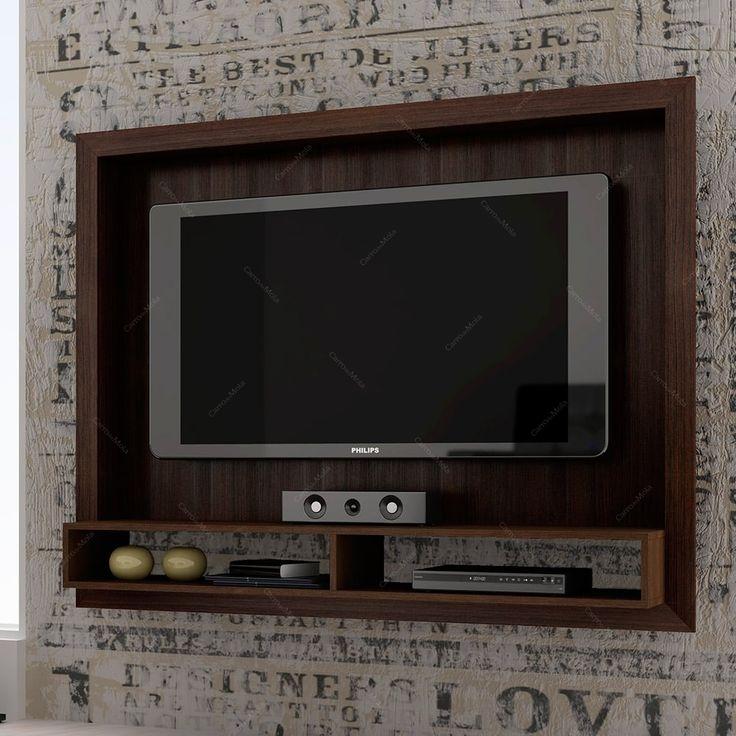 Belíssimo painel para assistir TV em grande estilo. Para se informar, relaxar, se divertir em alto estilo! Além de desafogar um pouco seu rack e permitir decorá-lo com sua personalidade no espaço que restou, ainda deixa a parede de sua sala muito mais moderna e aconchegante! #painelparaTV #saladeTV #rack #homedecor #interiostyling #interiordecor #designdeinterioresbrasileiro #arquiteturadeinteriores #decoraçãodebomgosto #decoraçãoelegante #decorarfazbem #comprardecoracao #carrodemola.
