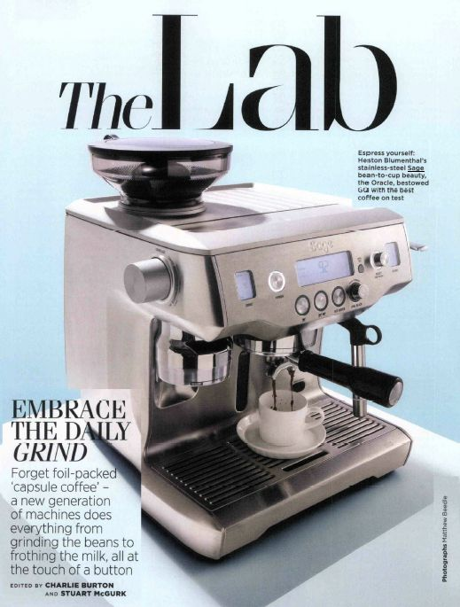 Sage Oracle Automatic Manual Coffee Machine brings Barrista-quality coffee to your home!  http://www.sageappliances.co.uk/the-oracle.html