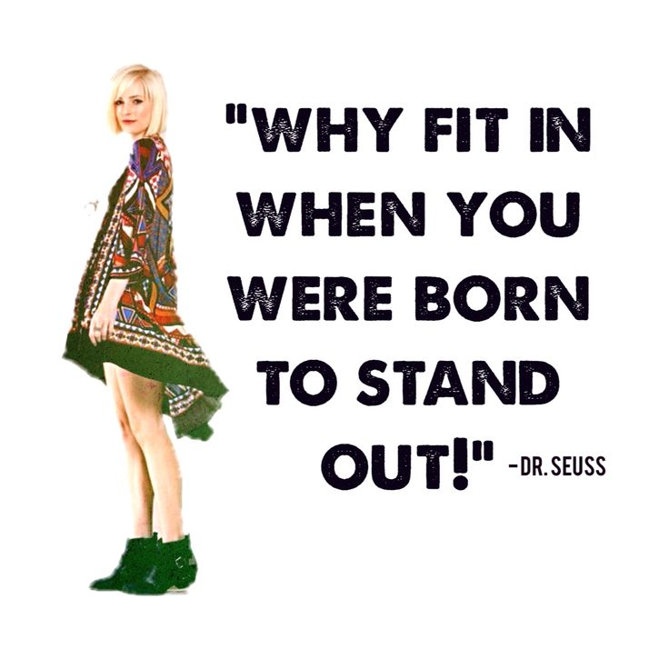 Stand Out Quotes: Quotes About Standing Out In A Crowd. QuotesGram
