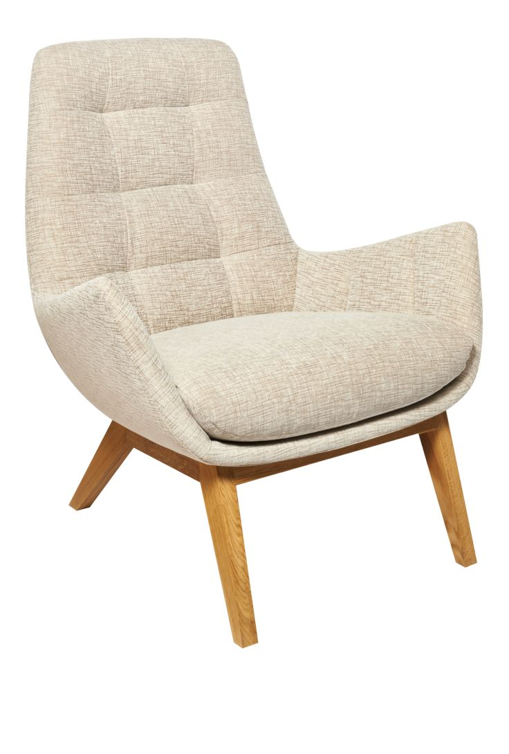 DENA Sessel Mit Stoffbezug