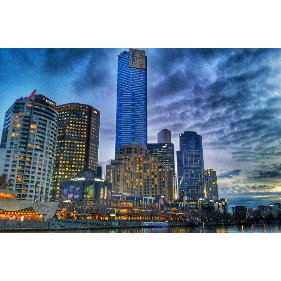 Southbank Promenade , Melbourne
