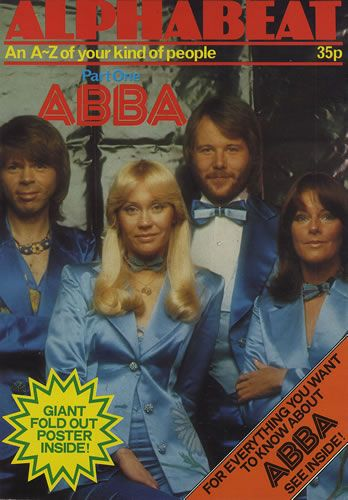 ALPHABEAT POSTER MAGAZINE - ABBA