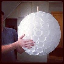My Day Lookbook: Plastik krus lampe