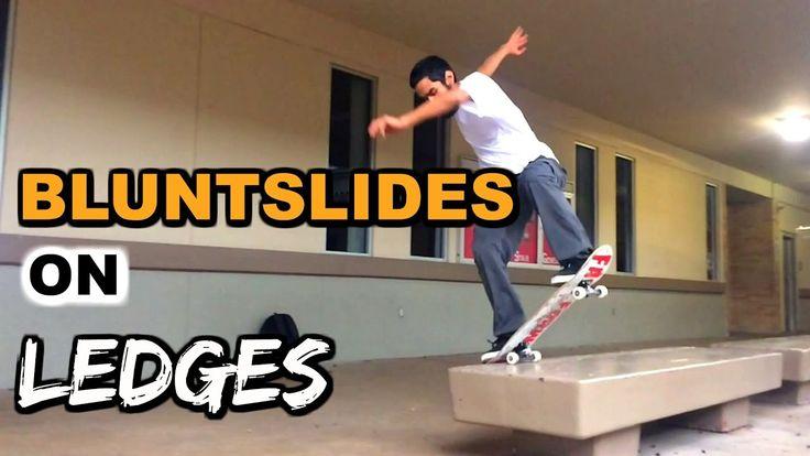 SKATE HACKS: Bluntslides on Ledges