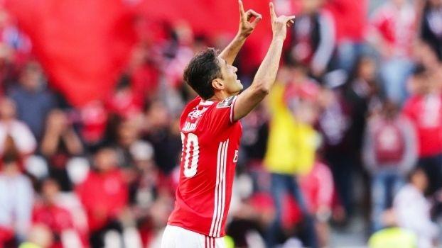 Jonas Comemora Gol Benfica Estoril Campeonato Portugues 29/04/2017