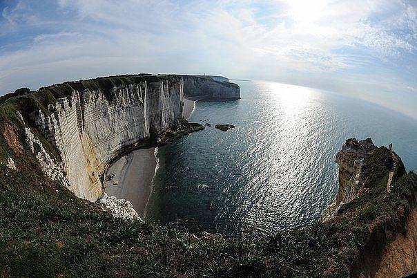 Скалы Этрета, Нормандия, Франция