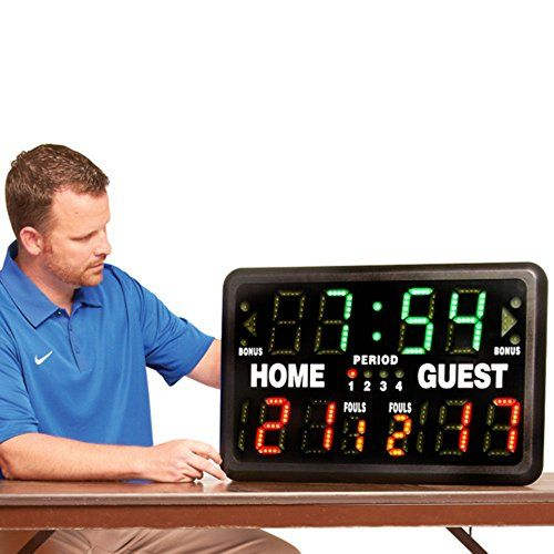MacGregor SK2229R Multisport Indoor Scoreboard with Remote  //Price: $ & FREE Shipping //     #sports #sport #active #fit #football #soccer #basketball #ball #gametime   #fun #game #games #crowd #fans #play #playing #player #field #green #grass #score   #goal #action #kick #throw #pass #win #winning