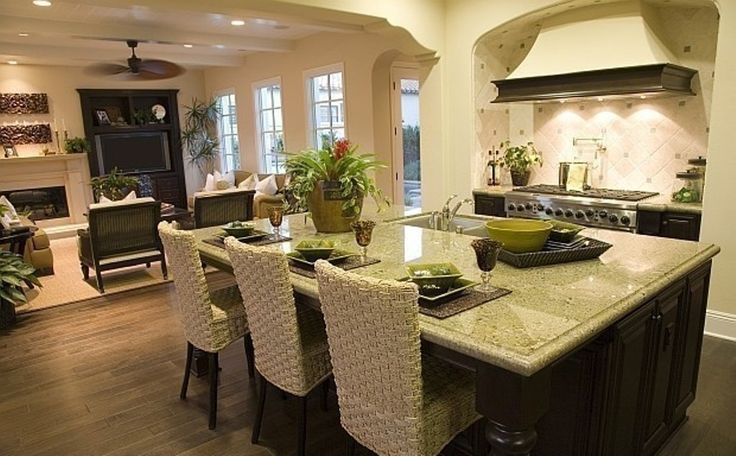 how to decorate open living room and kitchen | kitchen design ideas Open Floor Kitchen Designs Elegant Open Floor Kitchen Designs Gallery
