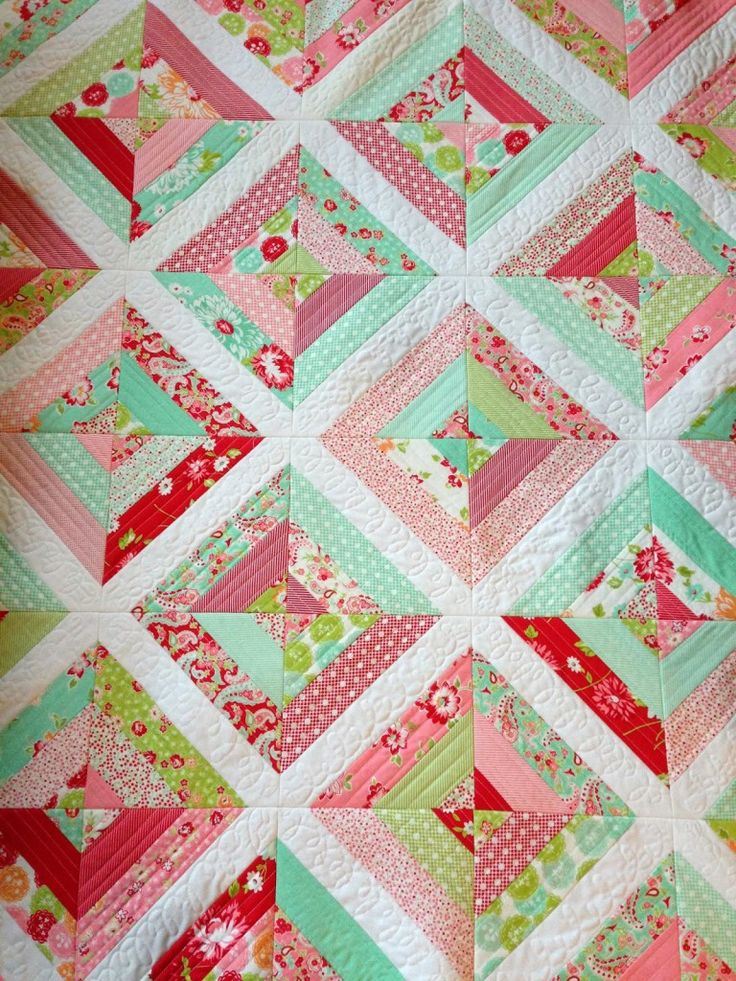 Quilt As You Go Strip Quilt Kids Quilts Pinterest