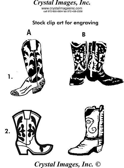 Free Cowboy Boot Outline Cowboy Boots Clipart Cowboy