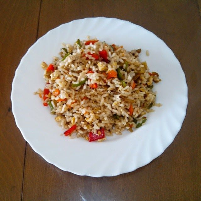 37 best images about wok on pinterest oriental sons and - Arroz con verduras light ...