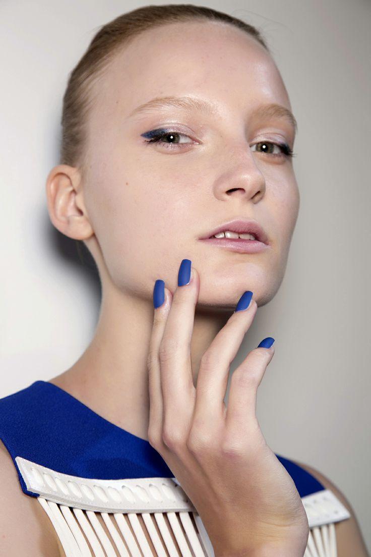 Manicure: trendy wiosna-lato 2014, David Koma, fot. Imaxtree