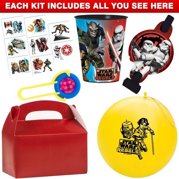 Check out Star Wars Deluxe Favor Kit (for 1 Guest) - Wholesale Party Accessories from Wholesale Party Supplies