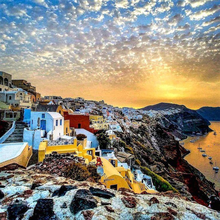 Outstanding sunrise at Santorini island (Σαντορίνη). No words ... just ❤️!