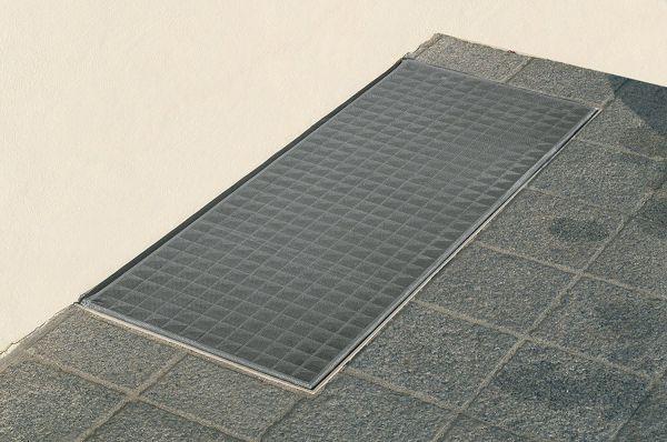 Lichtschacht Abdeckung 60x135 Cm Lichtschacht Aluminium Edelstahlgewebe