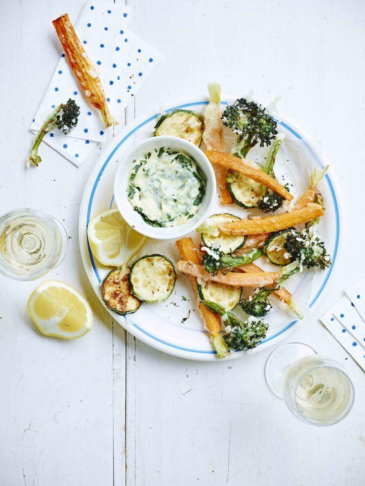 Préparez un(e) délicieux(se) légumes en tempura avec cette recette et régalez vos convives. Bon appétit!