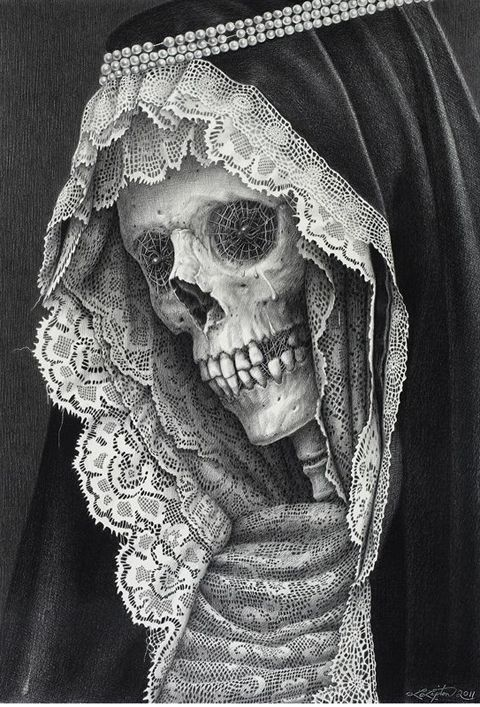 laurie lipton - death and lace