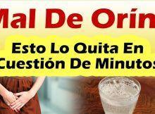 INFECCION URINARIA REMEDIOS CASEROS Como Quitar El Mal De Orin Rapido