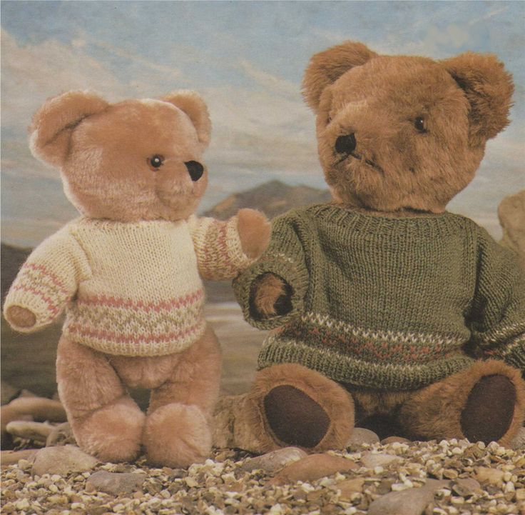 Patterns For Knit Fabrics : 17 Best ideas about Ted Bear Toy on Pinterest Teddy bears, Antique teddy be...
