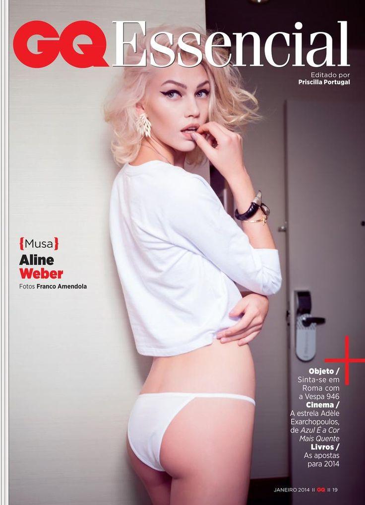 Aline Weber - GQ Brasil - Musa