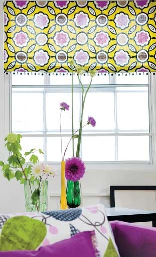 Designers Guild Roman Blinds. Designers Guild Fabrics and wallpapers can be purchased through www.janehalldesign.com