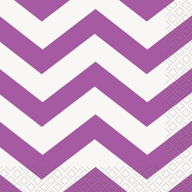 Cool Party Supplies Pretty Purple Chevron Beverage Napkins (16) just added...