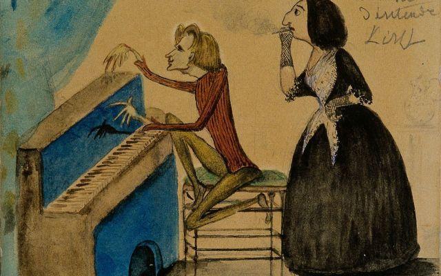 Parigi città d'Arte e d'Amore! La storia d'amore tra Frederick Chopin, di cui è stato il compleanno qualche giorno fa, e George Sand (al secolo Amandine Aurore Lucile Dupin), anche loro conosciutisi ed innamoratisi a Parigi. #parigi #musica #arte #amore #chopin