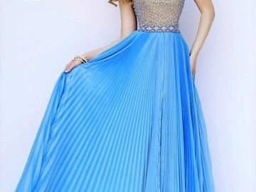 Items For Sale: NWT SHERRI HILL EVENING GOWN. ICY BLUE. Sz 4. Ret $600 http://ift.tt/1T2736Z