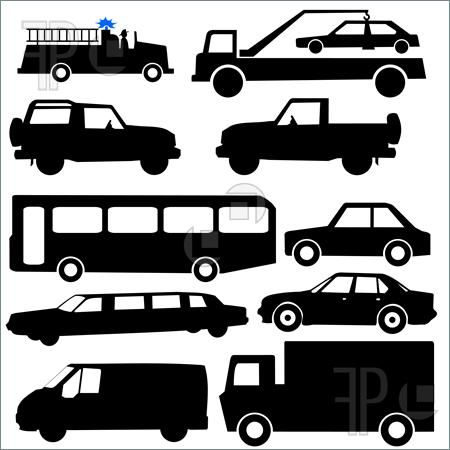 car silhouettes - Google Search