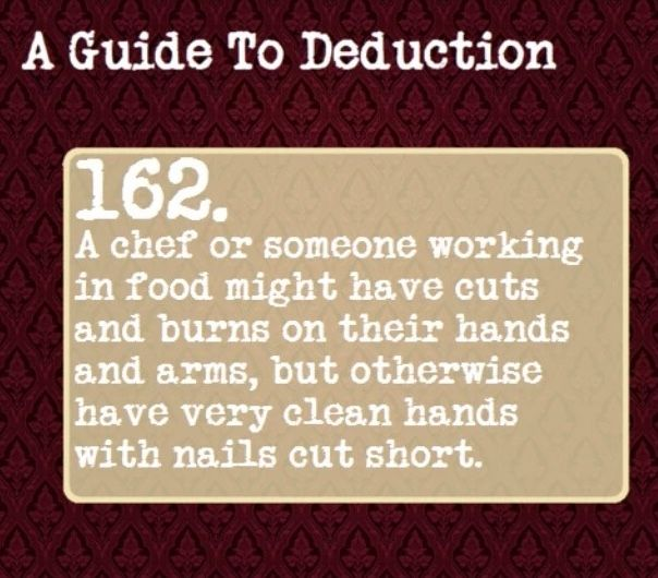 A Guide to Deduction #162