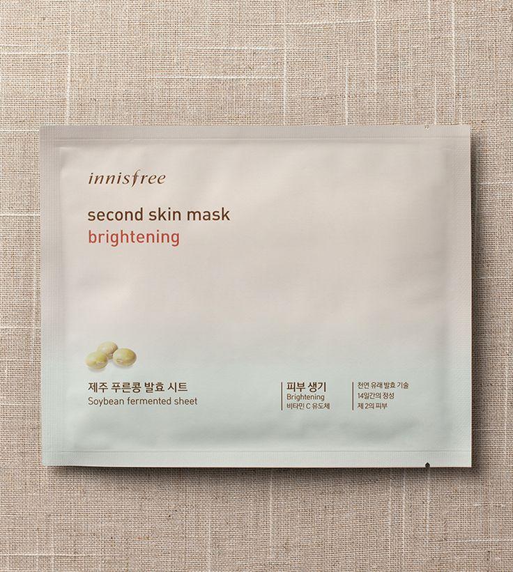 SKIN CARE - Second skin mask - brightening   innisfree